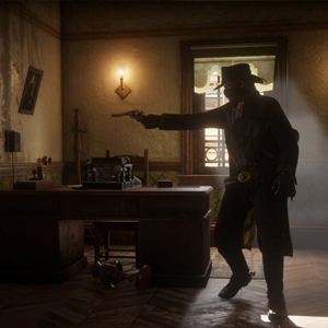 Red Dead Redemption 2 Shooting