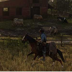 Red Dead Redemption 2 Horesback Ridin