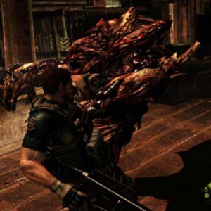 Resident Evil Xbox One Infected Creature