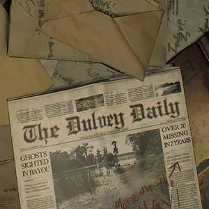 Resident Evil 7 Biohazard Dulvey Newspaper