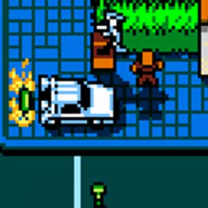 Retro City Rampage - Vehicle