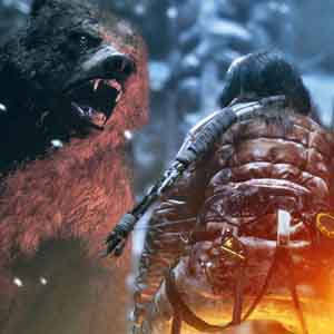 Rise of the Tomb Raider - Wild Bear Encounter