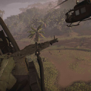 Battle in Rising Storm 2 Vietnam aerial gunner