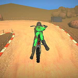 Top of the bike stunt