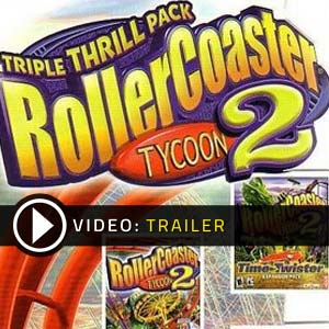 RollerCoaster Tycoon 2 Triple Thrill Pack Digital Download Price Comparison