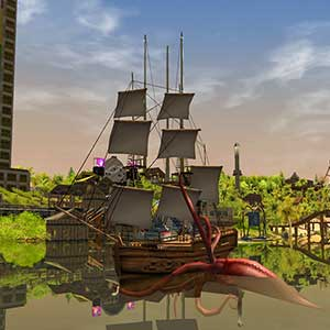 RollerCoaster Tycoon 3 Complete Edition Pirate Ship