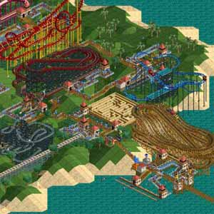 Rollercoaster Tycoon Deluxe Loopy Landscapes
