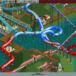 Rollercoaster Tycoon Deluxe -  Rollercoaster