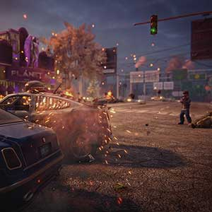 Saints Row The Third Remastered Car Crash
