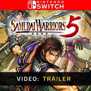 Samurai Warriors 5 Nintendo Switch Video Trailer