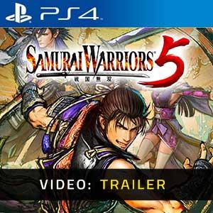 Samurai Warriors 5 PS4 Video Trailer