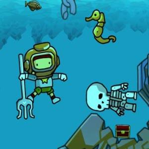 Scribblenauts Unlimited Scuba Diving