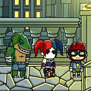 Scribblenauts Unmasked A DC Comics Adventure - Villains