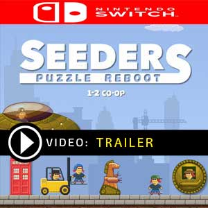 Seeders Puzzle Reboot Nintendo Switch Gameplay Video