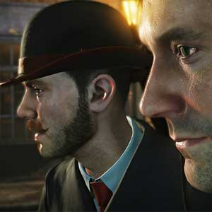 Sherlock Holmes The Devils Daughter PS4 - Holmes and Watson