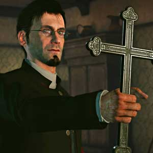 Sherlock Holmes The Devils Daughter PS4 - Priest