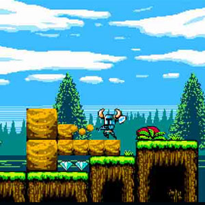 Shovel Knight - Digging for Loot