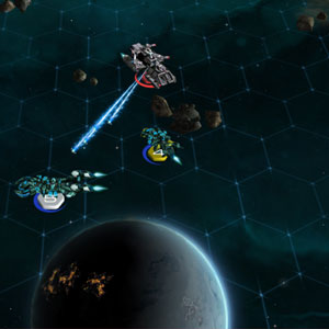 Sid Meiers Starships Galaxy Battle