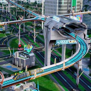SimCity Cities of Tomorrow - Highway System