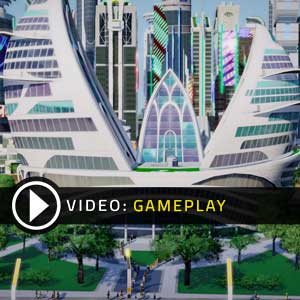 SimCity Cities of Tomorrow Gameplay Video