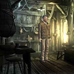 Sinking Island - Inside a Hut