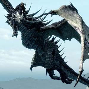Skyrim Dragonborn - Dragon