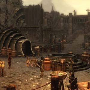 Skyrim Dragonborn - Town