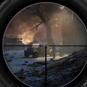 Sniper Elite V 2 Sniper Scope