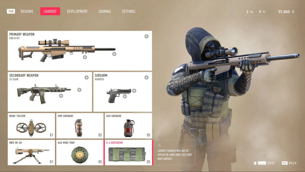 Sniper Ghost Warrior Contracts Rifles
