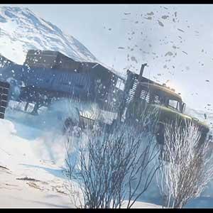 SnowRunner snow truck