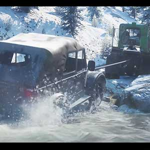 SnowRunner truck car