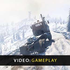 SnowRunner gameplay video