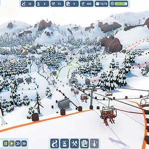 Snowtopia Ski Resort Builder Ski Lift