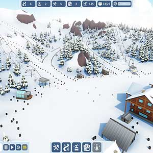 Snowtopia Ski Resort Builder Piste