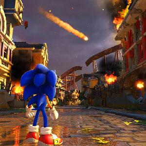 Run across iconic zones defeating enemies