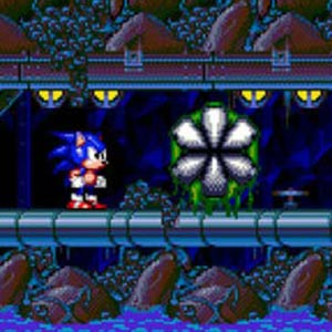 Sonic Spinball Toxic Caves