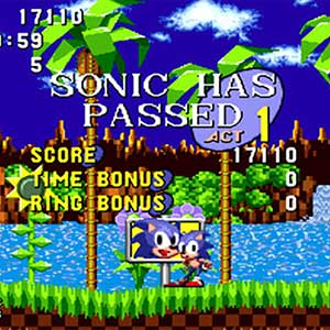 Sonic The Hedgehog - Finish Line