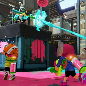 Splatoon Nintendo Wii U Interface