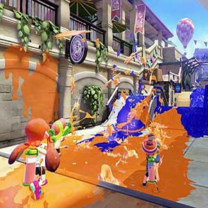 Splatoon Nintendo Wii U Battle