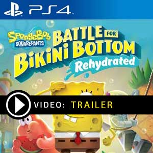 Spongebob Squarepants Battle for Bikini Bottom Rehydrated PS4 Prices Digital or Box Edition
