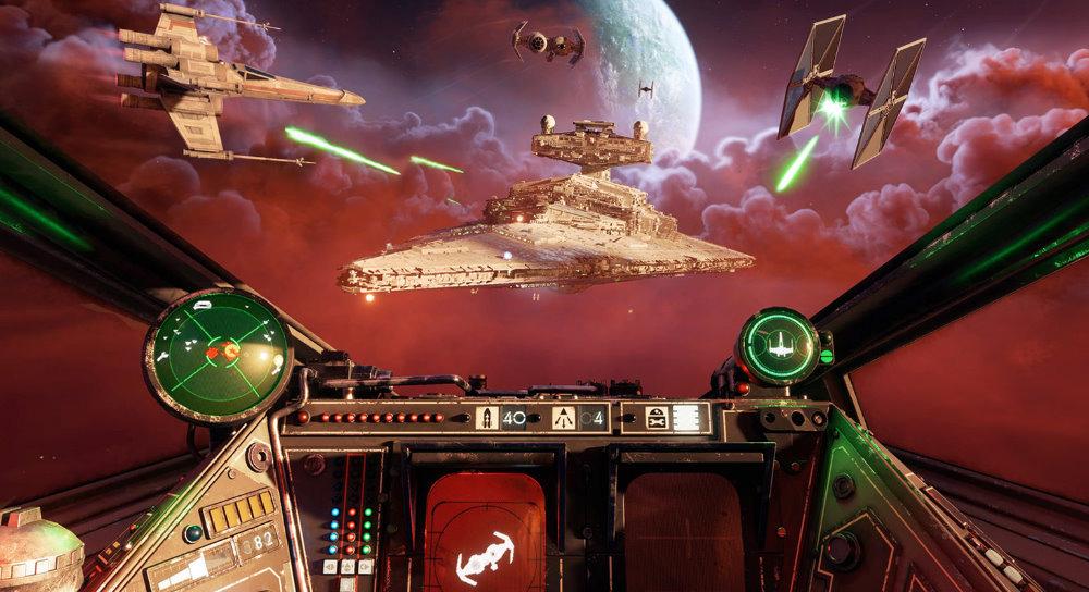 Star Wars Squadrons Ship View