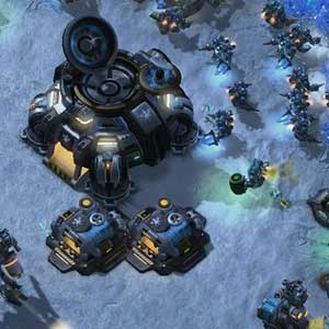 Starcraft 2 Heart of the Swarm Battle