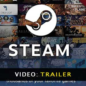 Steam Gift Card Video Trailer