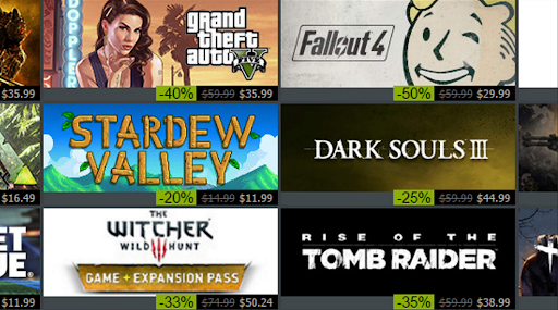 compare the best games on Steam