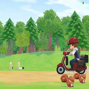 STORY OF SEASONS Pioneers of Olive Town Scooter