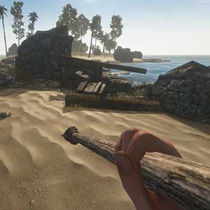 Crab hunting in Stranded Deep