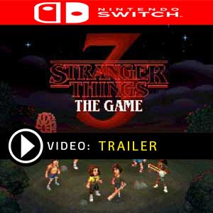 Stranger Things 3 The Game Nintendo Switch Prices Digital or Box Edition