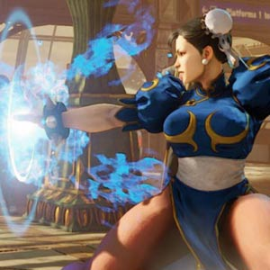 Street Fighter 5 Schlacht