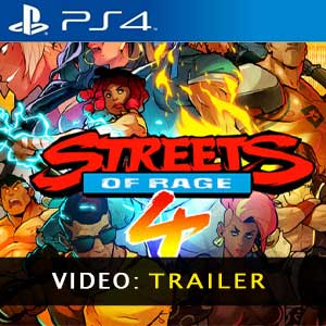Streets of Rage 4 Trailer Video