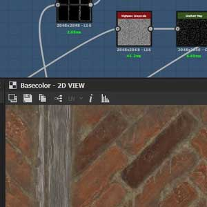 Substance Designer 2021 Interface
